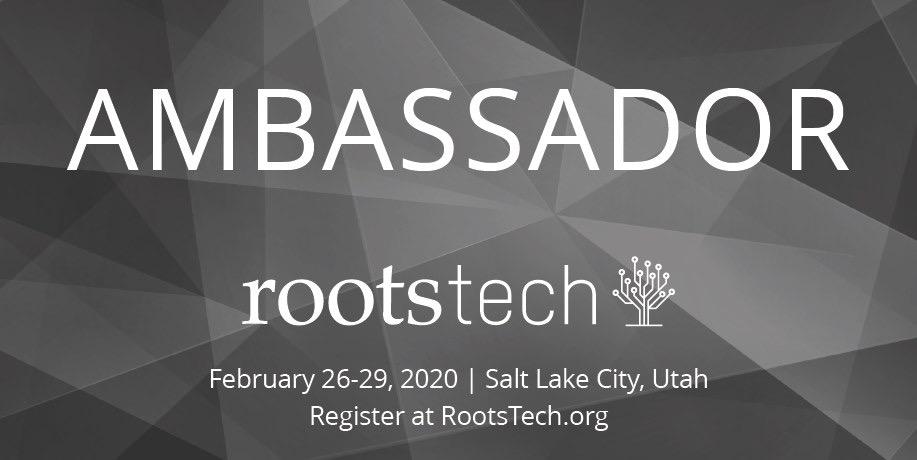 rootstech ambassador